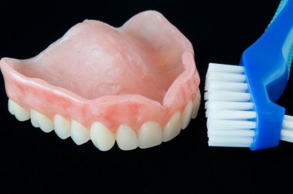 How do i care for my Dentures?